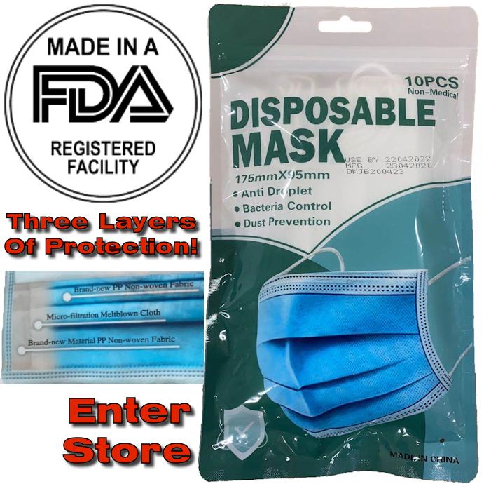 Non-Medical Disposable Masks